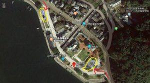 三角西港:無料駐車場