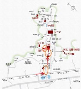 円覚寺:選仏場と紅葉 撮影ポイント