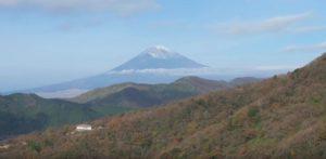 箱根駒ヶ岳ロープウェイからの富士山