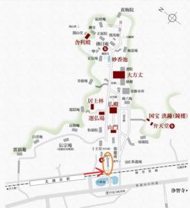 円覚寺:地図