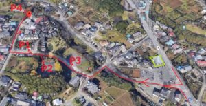 七沢荘:行き方とコンビニ