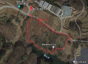 震生湖:紅葉観光ルート