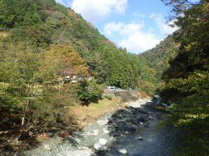 中川温泉ぶなの湯周辺の紅葉