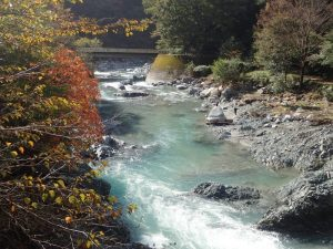 中川温泉ぶなの湯と紅葉
