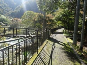 河内川:湯の沢橋までの行く道順