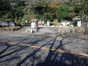 県立大磯城山公園:バイク置場までの行き方