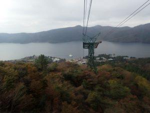 箱根駒ヶ岳ロープウェイ:芦ノ湖