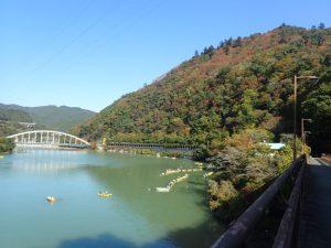 相模湖:紅葉