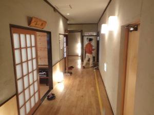 七沢荘:本館の廊下