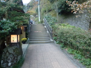 大山寺の紅葉:行き方
