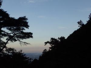 大山:紅葉