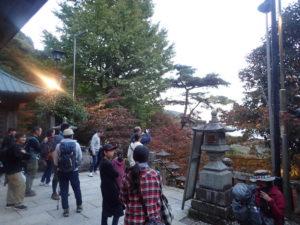大山寺:紅葉撮影ポイント1つ目