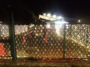 大山寺と紅葉:大山ケーブル駅とイルミネーション