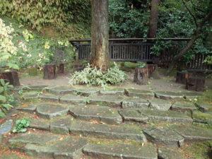 東慶寺の休憩場所