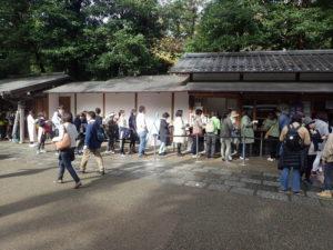 円覚寺:御朱印の混雑具合