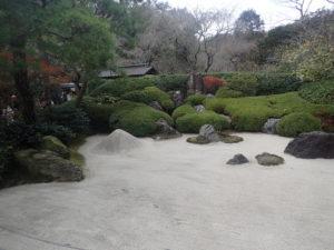 明月院:枯山水庭園