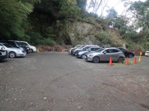 浄智寺:駐車場
