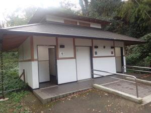 浄智寺:公衆トイレ
