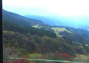 箱根駒ヶ岳ロープウェイ:右方向