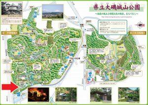 県立大磯城山公園:紅葉マップ もみじ広場