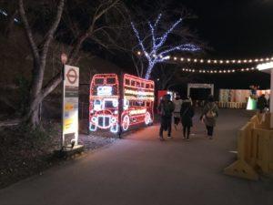 さがみ湖イミリオン:パディントンタウン ロンドンバス