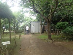 江の島:辺津宮近くにある公衆便所
