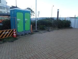 江の島:バスロータリー喫煙場所