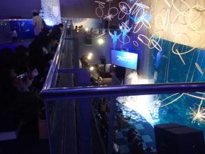 新江ノ島水族館:相模湾大水槽2Fからの展望