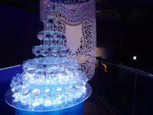 新江ノ島水族館:クラゲのグラスツリー