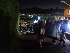 松田きらきらフェスタ:ふるさと鉄道混雑風景
