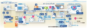新江ノ島水族館:深海2000の場所
