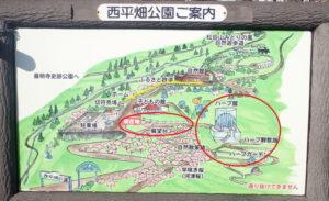 松田きらきらフェスタ:イルミネーションの場所マップ地図