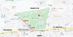 平塚八幡宮の初詣:無料駐車場ルート・渋滞箇所