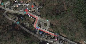 大山阿夫利神社の初詣:伊勢原市営大山第二駐車場 渋滞図