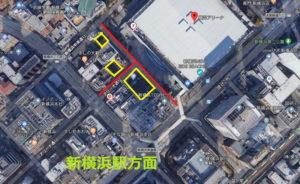 横浜アリーナ:成人式:利用できない駐車場