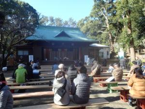 平塚八幡宮:神楽殿