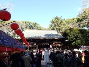平塚八幡宮の初詣:お守りやお札