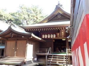 平塚八幡宮:猪目・ハート型