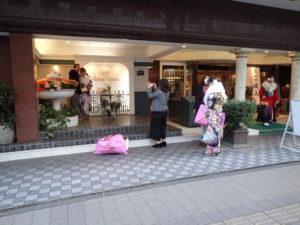 横浜市成人式:新横浜国際ホテル(南館):記念撮影スポット
